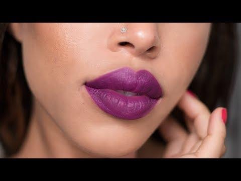 Unboxing Pat McGrath Lust MatteTrance + First Impressions | Jaleesa Moses