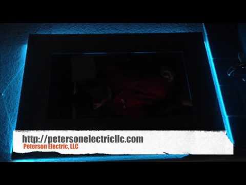 Installed LED Strip Lights Behind Mirror & Under Cabinet