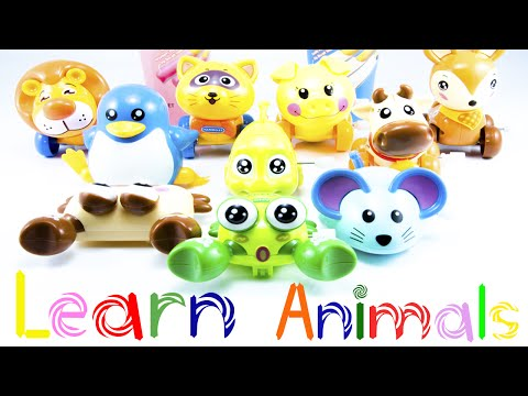 Play & Learn Animals Names For Kids - Learn Animal Names in English
