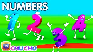 The Numbers Song - Learn To Count from 1 to 10 - Number Rhymes For Children