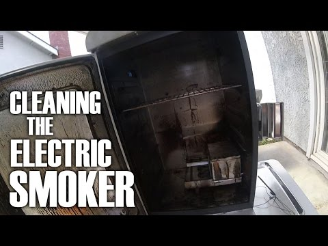 Cleaning The Electric Smoker