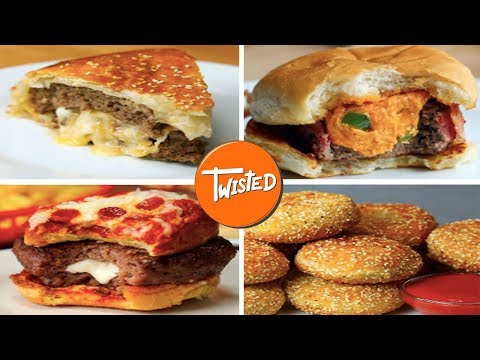 10 Homemade Burger Recipes | Twisted