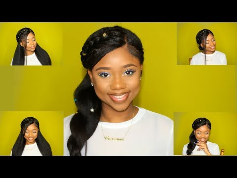 4 SUPER NATURAL LOOKING PROTECTIVE STYLES | How To Style A Kinky Wig - WowAfrican | Chev B