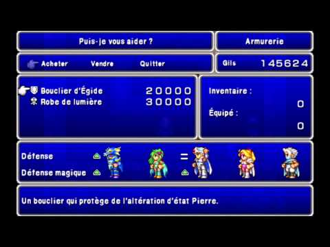 Walkthrough FR l Final Fantasy IV PSP l Le Royaume des Eons (Léviathan & Asura, Queue de Rat)