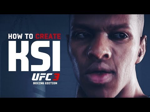How To Create KSI 🥊 (Boxing Edition) In UFC 3
