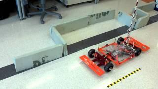 Autonomous parking with ultrasonic sensors