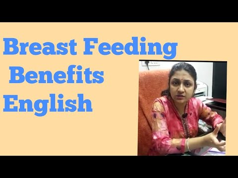 Breast Feeding Benefits English to Mother and Newborn