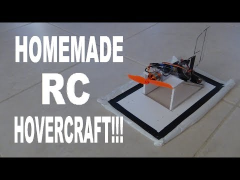 How To Build An Rc Hovercraft!!!