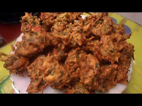 Lahori Pakoray Recipe - Lahoriフライドスナック - اهوري فرايد وجبة خفيفة- Lahori油炸小吃