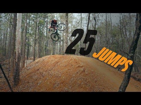 Longest MTB Jump Line Around! | The Forbidden Zone, Chewacla State Park
