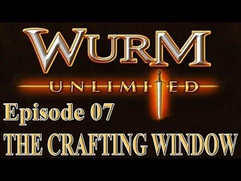 [Wurm Unlimited] [Wurm Online] Tutorial - Using the Crafting Window
