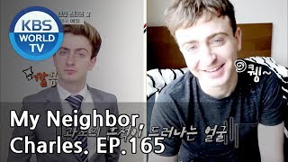 My Neighbor, Charles | 이웃집 찰스 Ep165 / Emil the YouTuber, from England! [ENG / 2018.12.04]