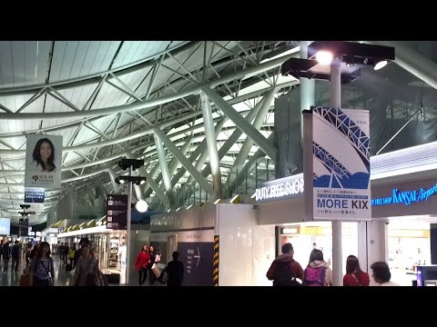 An HD Tour of Osaka's Kansai International Airport (KIX), Terminal 1