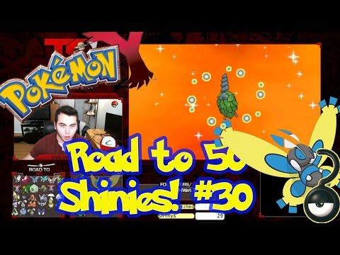Road to 50 Shinies | Shiny #30 | SHINY BURMY! | Masuda Method | Pokemon XY