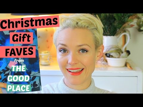 Conscious Christmas Gift Faves With The Good Place | Kate Arnell