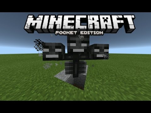 Minecraft Pocket Edition: How To Spawn The Wither