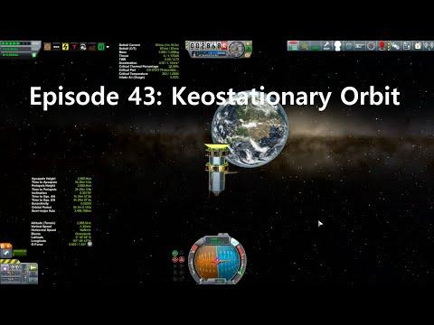 KSP Career: Episode 43 - Keostationary Orbit
