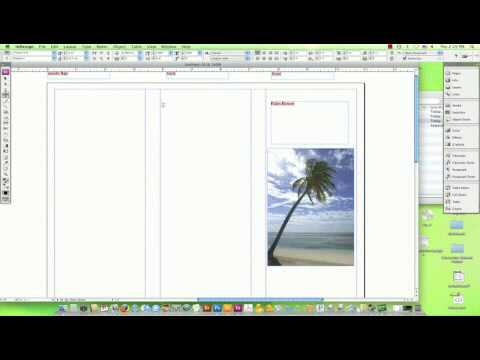 How to Make a Travel Brochure on a Computer