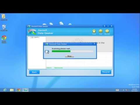 How to Recover Permanently Deleted Files from Windows 8 Recycle Bin