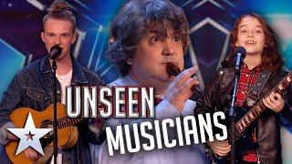 UNSEEN Musicians! | Auditions | Britain's Got Talent