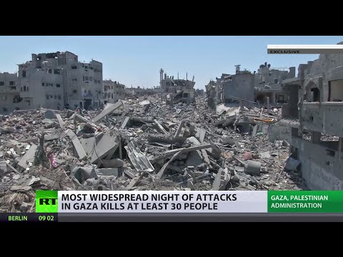 100 Palestinians killed since midnight in Gaza