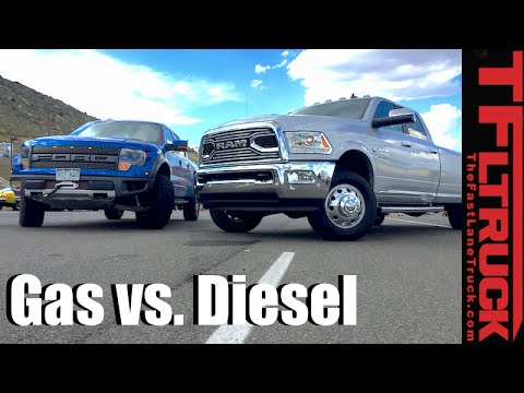 Top 5 Pros & Cons of Diesel vs Gasoline Pickup Trucks