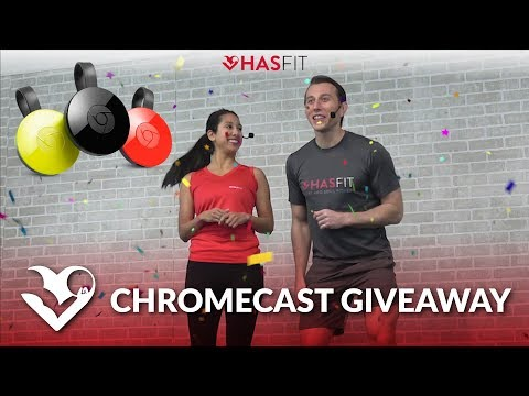 CHROMECAST GIVEAWAY! Workout with HASfit on your TV!