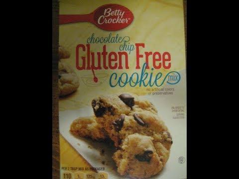 Betty Crocker Gluten Free Chocolate Chip Cookie Review