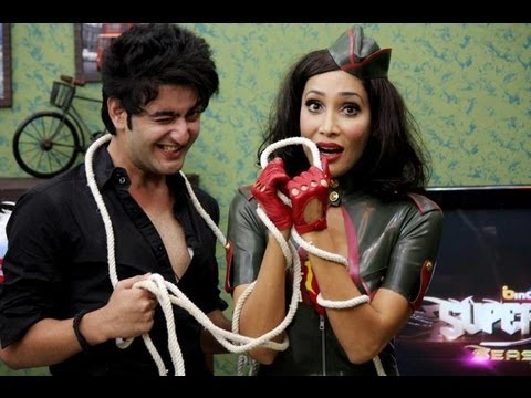 SuperDude - Sofia guides the Contestants in how to make a girl feel comfortable!! - Episode 9 bindass