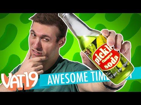 Pickle Soda, Golden Gummy Challenge & BIG giveaway? | A.T. #141