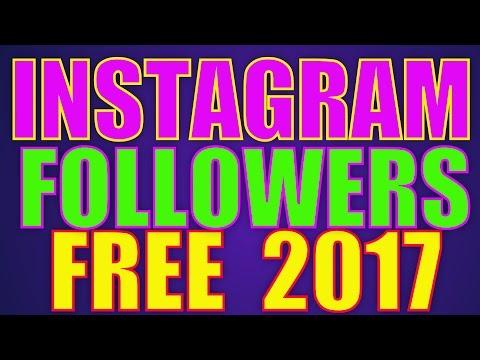 Free Instagram Followers - How To Get Free Instagram Followers Online (2017)