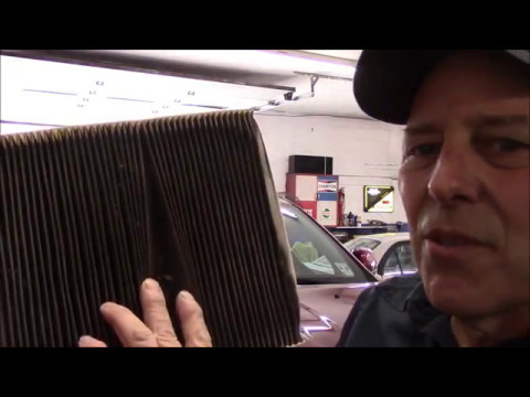 How to replace the cabin filter on a Dodge Durango