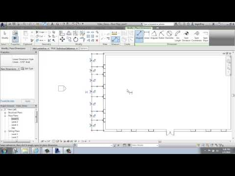 #13 - Autodesk Revit - Adjusting Windows with Dimensions - Brooke Godfrey