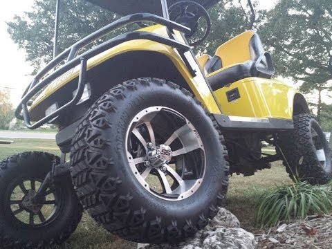 Exclusive Preview: Converting An E-Z-GO Golf Cart Into An Off-Road Monster!