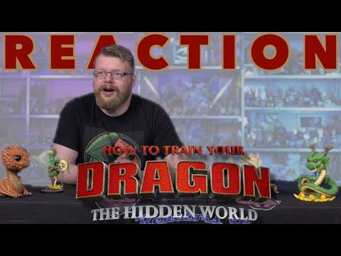 How To Train Your Dragon: The Hidden World | Official Trailer REACTION!!