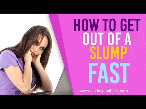 How To Get Out Of A Slump FAST