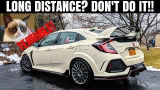 5 Reasons the Honda Civic Type R SUCKS as a Road Trip car