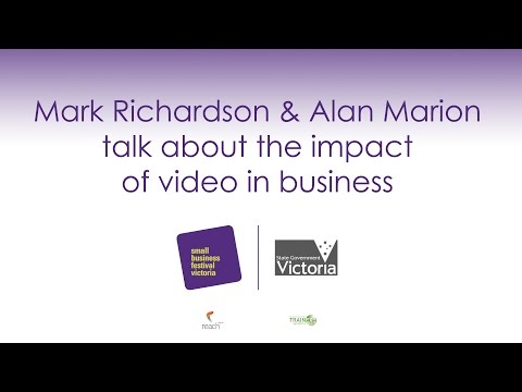 Mark Richardson from Porch Thoughts and Alan Marion talk about the impact of video in business