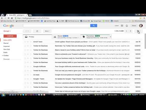 How to Forward Mail From One Email Account to a Google Mail Account : Using Google