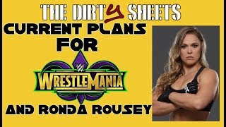 Current Plans for WrestleMania, Ronda Rousey? *Spoilers!!*