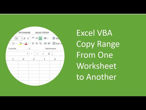 Excel VBA - Copy Range From One Worksheet to Another