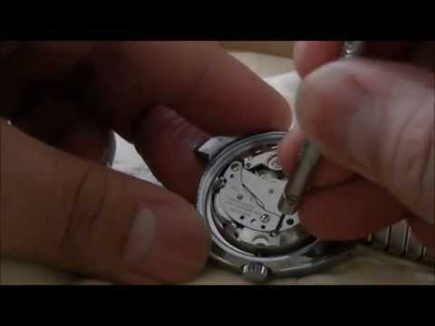 How to Remove Crown & Stem from Oris Mechanical Watch Cal. 715