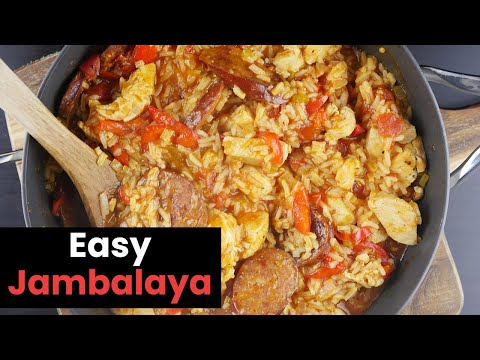 Delicious Easy Chicken Jambalaya