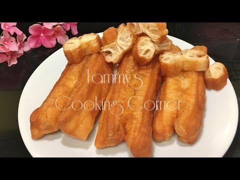 BÁNH DẦU CHÁO QUẪY - CÔNG THỨC TIẾNG VIỆT (fried breadsticks)