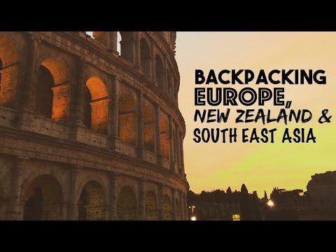 Backpacking Europe, New Zealand & Australia in 5 Minutes