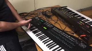 Loading patches to Yamaha DX7 Sysex Librarian Mac OSX  syx