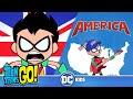 Teen Titans Go USA Vs UK DC Kids