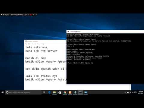 Cek DNS server,dhcp server, web server, ftp server, ntp server