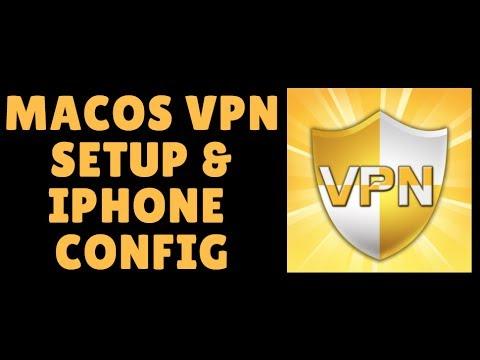 Setup VPN macOS Sierra