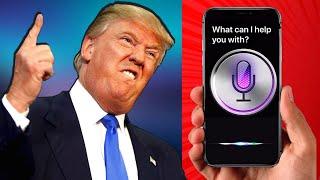 If Donald Trump had a Rap Battle with Siri..